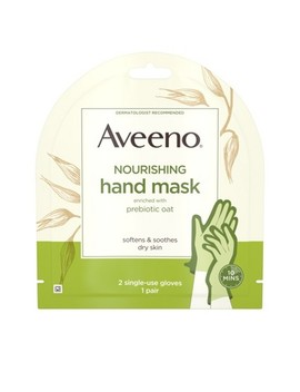 aveeno-nourishing-hand-therapy-mask-with-oat---1-pair by aveeno