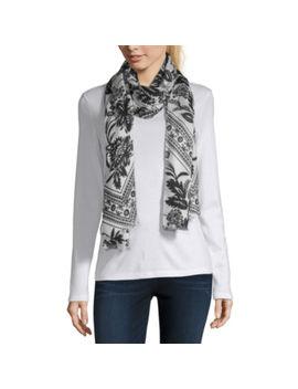 liz-claiborne-carrie-print-pashmina-style-scarf by liz-claiborne
