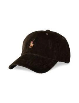 corduroy-baseball-cap by polo-ralph-lauren