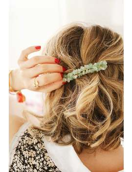 aventurine-pearl-st-bar,-pearl-hair-pinch,-pearl-pin,-hair-accessory,-hair-barrette,-fancy-bar,-gem-pearls by etsy