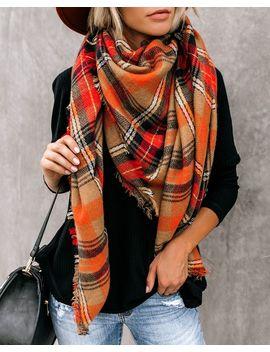 cozy-corner-plaid-blanket-scarf by vici