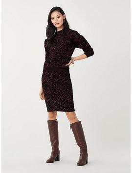 Cassia Velvet Blend Pullover by Dvf