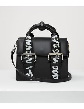 Alex Medium Handbag Black/Graffiti  by Vivienne Westwood