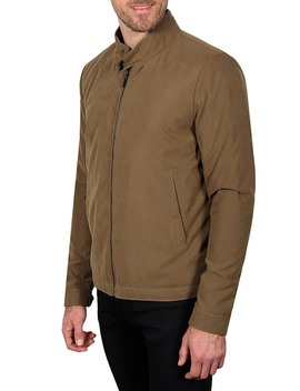 golf-bomber-jacket by haggar