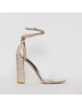 felicia-silver-clear-diamante-block-heels by simmigirl