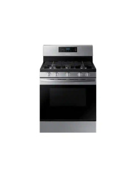 5.8 Cu. Ft. Freestanding Gas Range In Stainless Steel by Samsung