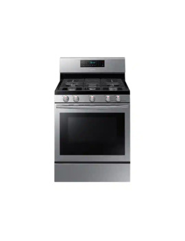 5.8 Cu. Ft. Freestanding Gas Range With Convection In Stainless Steel by Samsung