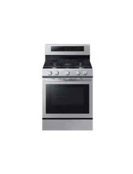 5.8 Cu. Ft. Freestanding Gas Range With True Convection In Stainless Steel by Samsung
