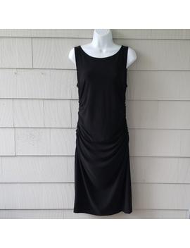 kamali-kulture-black-shirred-dress-large by kamali-kulture