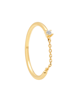 Nia Gold Ring by P D Paola