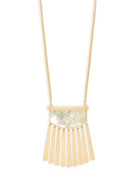 ellen-14k-gold-plated-over-brass-necklace by kendra-scott