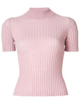 ribbed-knit-top by nanushka