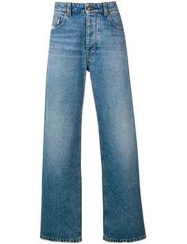 wide-fit-5-pocket-jeans by ami-paris
