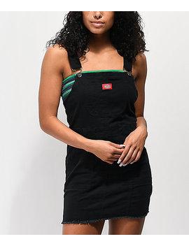 Dickies Bull Black Overall Dress by Zumiez