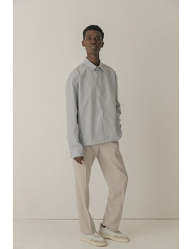 Cold Laundry Pastel Grey Shirt by Cold Laundry