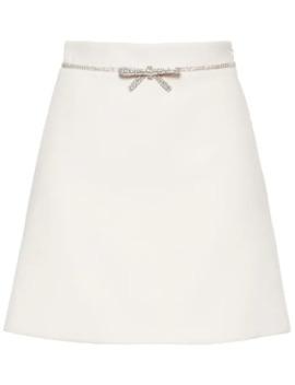 embellished-mini-skirt by miu-miu