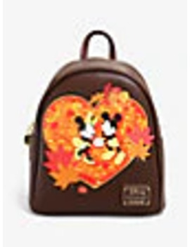 loungefly-disney-mickey-&-minnie-autumn-mini-backpack---boxlunch-exclusive by boxlunch