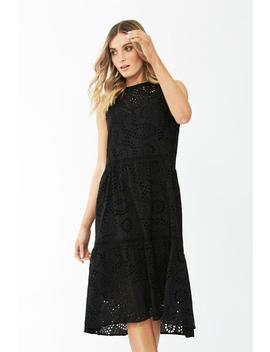 Georgia Broderie Midi Dress by Decjuba