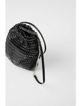 sparkly-bucket-bag by zara