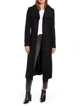 bouclé-maxi-coat by kenneth-cole-new-york