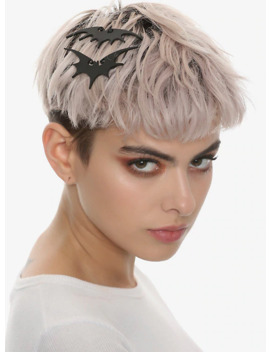 the-nightmare-before-christmas-bat-hair-clip-set by hot-topic