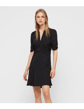 Avery Floral Dress by Allsaints