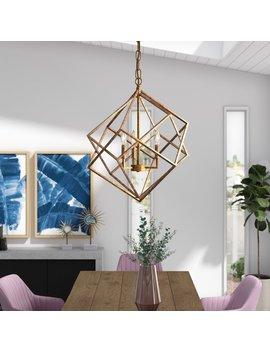 ojas-3-light-unique-_-statement-gemeotric-chandelier by willa-arlo-interiors