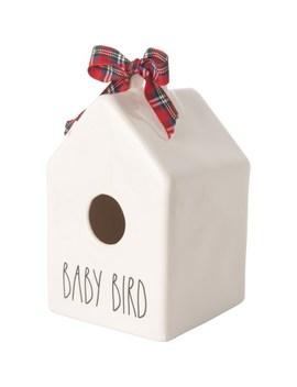 rae-dunn-baby-bird-birdhouse by rae-dunn