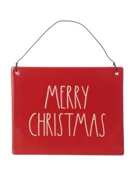 "rae-dunn-6x75""-merry-christmas-wall-plaque by rae-dunn"