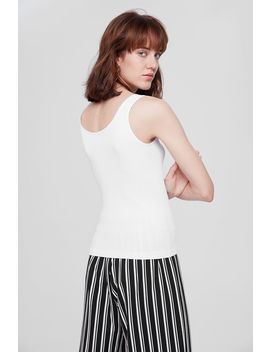 Valley Ribbed Tank Top by Temt