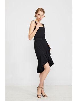 Odessa Ruffle Hem Dress by Temt
