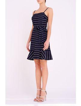 Gemma Ruffle Hem Dress by Temt