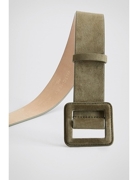 Porter Leather Belt by Witchery