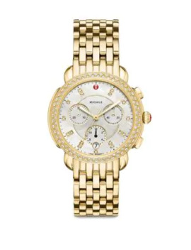 sidney-mother-of-pearl-&-stainless-steel-chronograph-watch by michele-watches