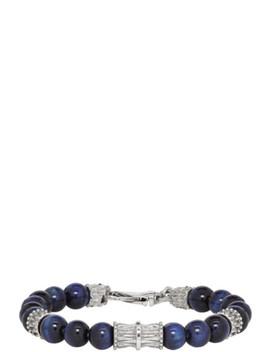 blue-beaded-bracelet by emanuele-bicocchi