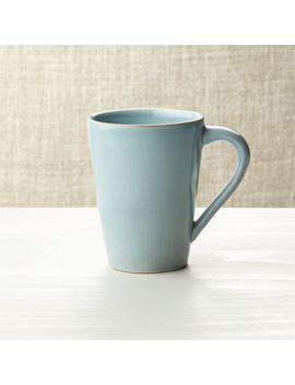 marin-blue-mug by crate&barrel