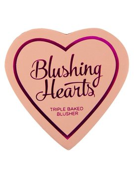 Blushing Hearts Blusher Peachy Pink Kisses 10g by I Heart Revolution