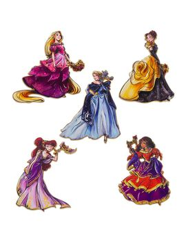 disney-designer-collection-midnight-masquerade-pin-set-1-–-limited-release-|-shopdisney by disney