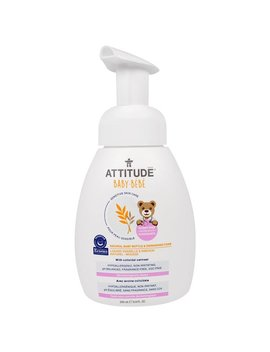 Attitude, Sensitive Skin Care, Baby, Natural Baby Bottle &Amp; Dishwashing Foam, 9.9 Fl Oz (295 Ml) by Attitude