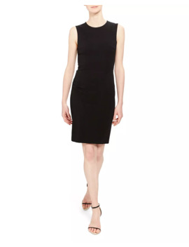 fitted-sleeveless-short-dress by theory