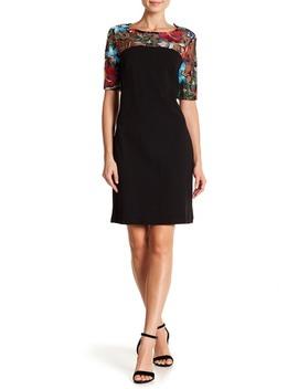 embroidered-lace-yoke-dress by nina-leonard