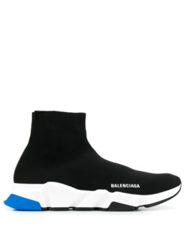 speed-knitted-sock-hi-top-sneakers by balenciaga