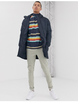 french-connection-tall-longline-padded-hooded-parka by french-connection