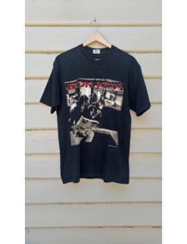 vintage-90s-american-rock-band-bon-jovi-tee-__-crossroad-world-tour-__-mens-l-__ by vintage  ×  band-tees  ×  bon-jovi  ×