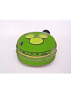 disney-pin-hidden-mickey-macaron-treats---green-cookie-authentic!!!-[112151] by ebay-seller