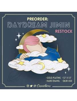 restock-preorder:-bts-daydream-jimin-enamel-pin-(gold-version) by etsy