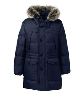 Men's Rusk Winter Down Parka by Lands' End