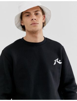 rusty-competition-crew-neck-fleece-sweatshirt by asos