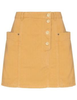 de-nimes-mini-skirt by jacquemus