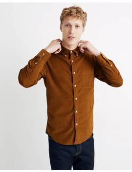 corduroy-button-down-shirt by madewell
